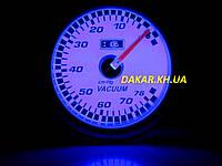 Тюнинговый автомобильный прибор Ket Gauge LED 7706 вакуум, фото 1