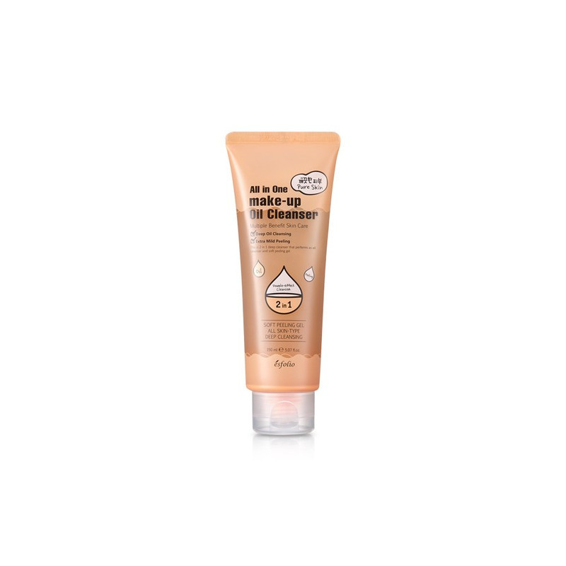 Очищающий крем лосьон Esfolio Pure Skin All In One Make-up Oil Cleanser