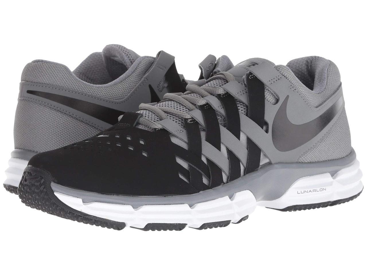 5d24e65fac41 Кроссовки Кеды (Оригинал) Nike Lunar Fingertrap TR Cool Grey Black - TopUSA