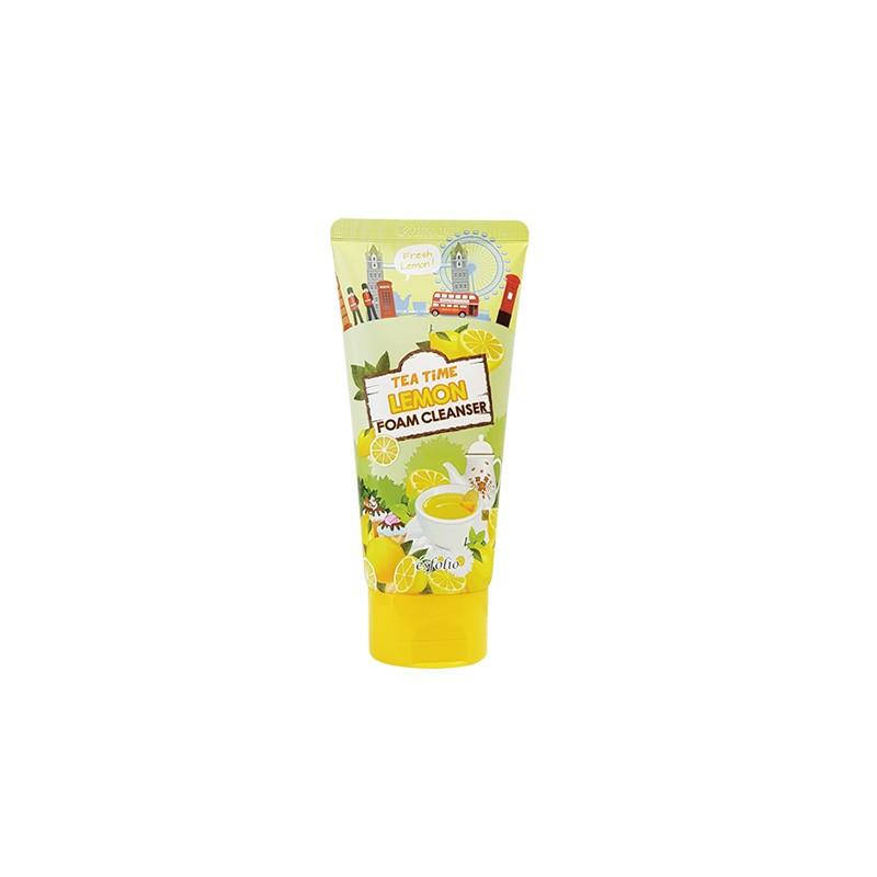 Пенка для умывания Esfolio Tea Time Lemon Foam Cleanser 120 мл