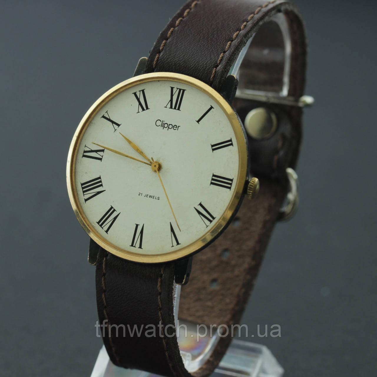64fd40e7 Clipper Заря наручные механические часы - Магазин старинных, винтажных и  антикварных часов TFMwatch в России