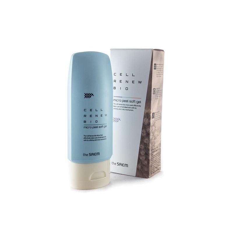 Пилинг-скатка для кожи лица The Saem Cell Renew Bio Micro Peel Soft Gel 40