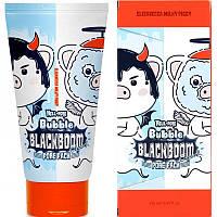 Регулярная Elizavecca Hell Pore Bubble Black Boom Pore Pack