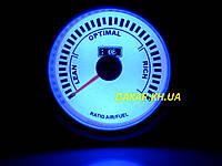 Тюнинговый автомобильный прибор Ket Gauge LED 7709 экономайзер Air Fuel состав смеси, фото 1