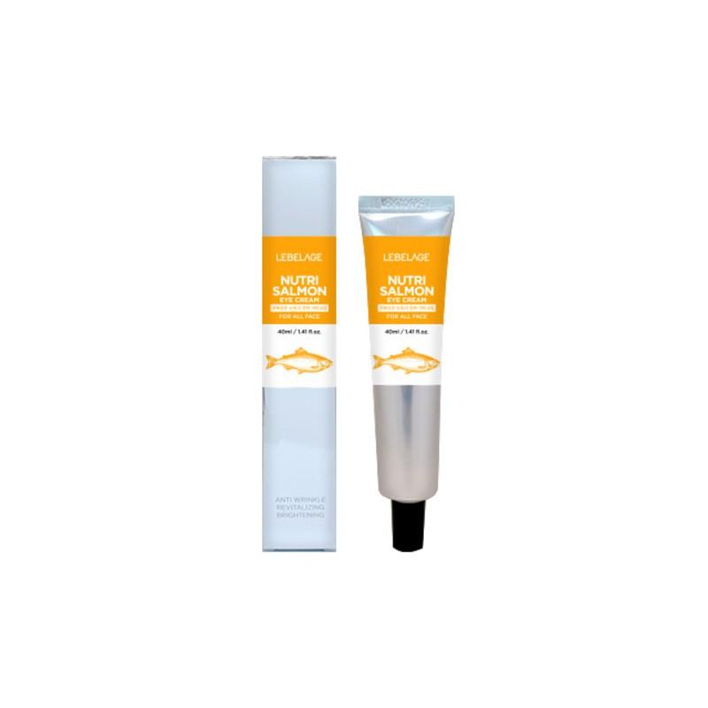 Питательный крем для глаз с лососевым маслом Lebelage Eye Cream Nutri Salmon 40 мл (8809317112008)