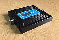 Двухдиапазонный репитер усилитель VBN-1960-GW GSM 900 MHz + 3G 2100 MHz, 300-400 кв. м. Регулировка.
