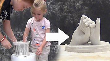 Сам себе скульптор! Скульптура в стиле лайфкастинг (подборка видео)