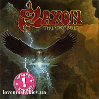 Музичний сд диск SAXON Thunderbolt (2018) (audio cd)
