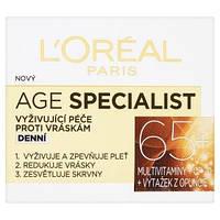 """Дневной крем-уход против морщин """"Age Specialist 65+"""", L'Oreal Paris, Франция"""