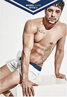 Мужские белые шорты Desmit - №3916