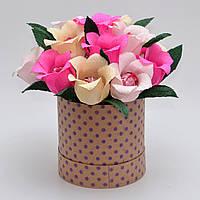 Букет з цукерок / букет из конфет / подарунок для дівчини / солодкий подарунок / оригінальний подарунок