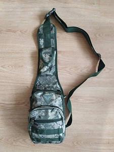 Тактична сумка через плече ММ14 український піксель | Тактическая сумка через плечо пиксель, сумка мессенджер