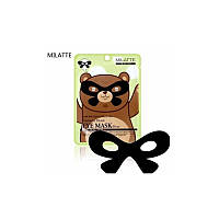Маска вокруг глаз Milatte Fashiony Black Eye Mask Bear