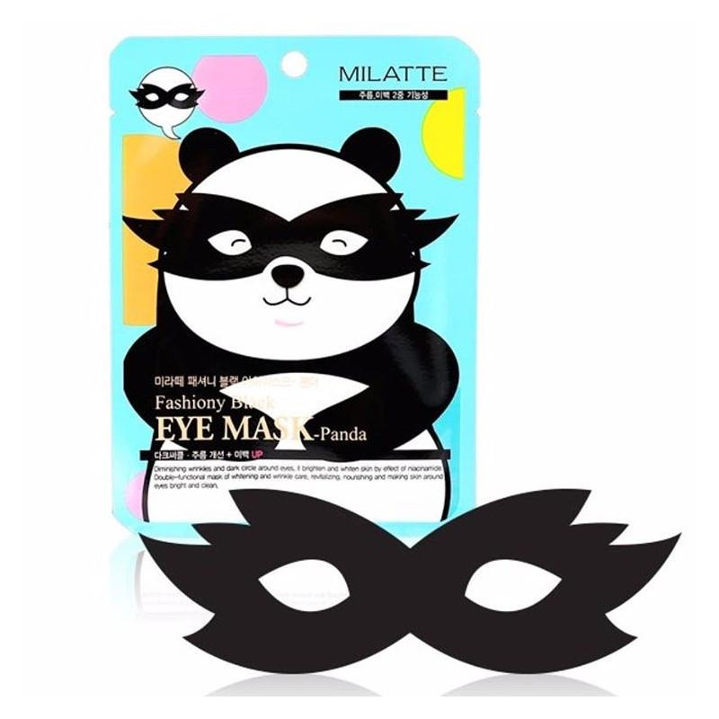 Маска вокруг глаз Milatte Fashiony Black Eye Mask Panda 10 г (8809535260246)