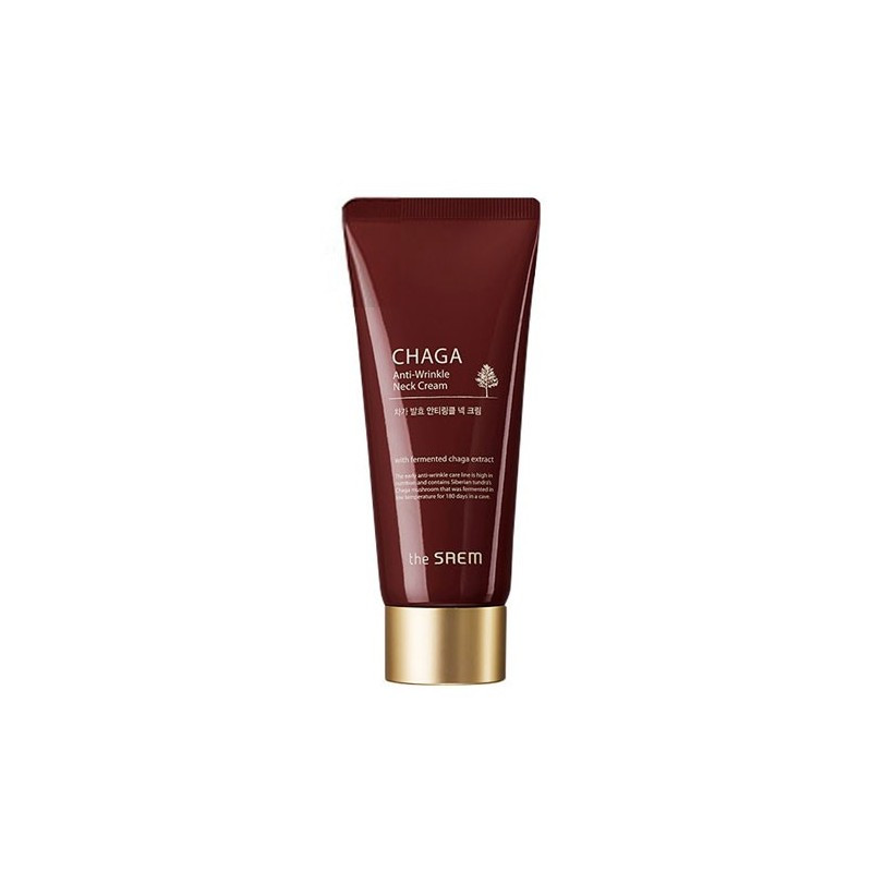 Крем The Saem CHAGA Anti-wrinkle Neck Cream