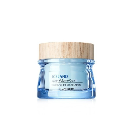 Глубоко увлажняющий крем The Saem Iceland Water Volume Hydrating Cream Combination Skin 80 мл (8806164145241)