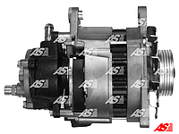 Генератор на Ford Transit 2.5 D - 2.5 TD (86-00), Lucas 70 A, с насосом, AS A4002
