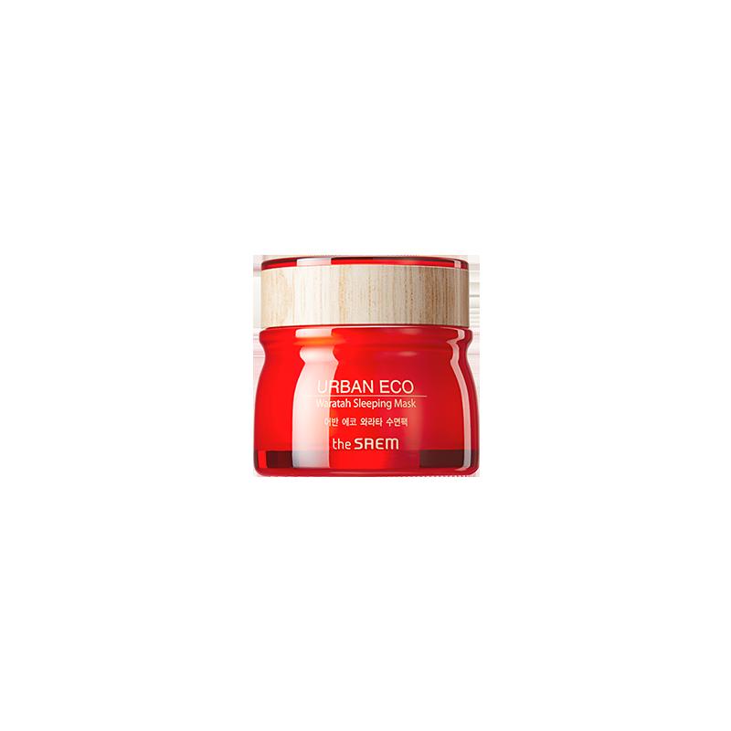 Ночная маска для лица с экстрактом телопеи The Saem Urban Eco Waratah Sleeping Pack 80 мл (8806164153048)