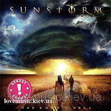 Музичний сд диск SUNSTORM The road to hell (2018) (audio cd)