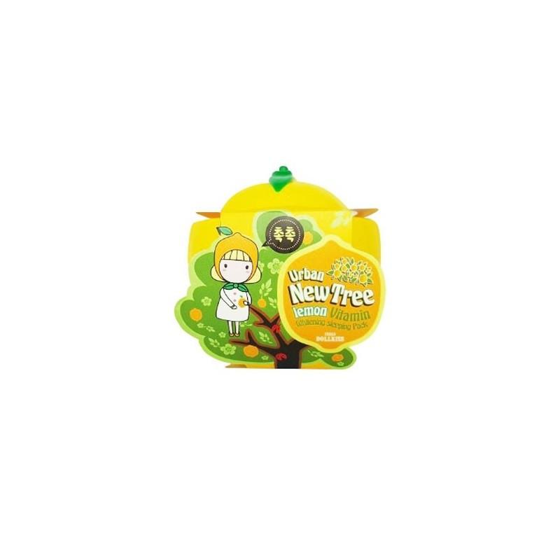 Urban Dollkiss New Tree Lemon Vitamin Whitening Sleeping Pack