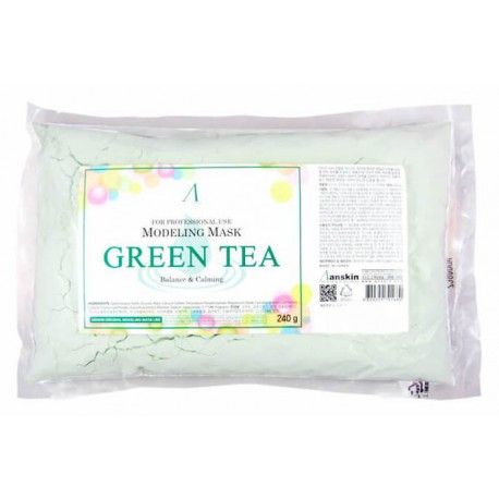 Альгинатная маска Anskin Green Tea Modeling Mask (Anskin012)