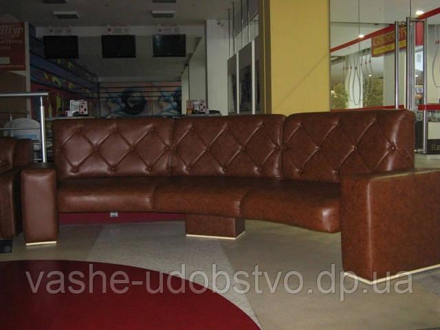 Мягкая мебель для кафе и ресторанов от производителя.