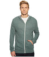 Толстовка Alternative Eco Jersey Zip Hoodie Jade Sea Overdye Grey/Eco Gey - Оригинал