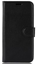Кожаный чехол-книжка для Xiaomi Pocophone F1 черный