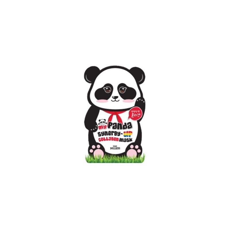 Тканевая маска для лица Baviphat My Panda Synergy-Up Collagen Mask Pack
