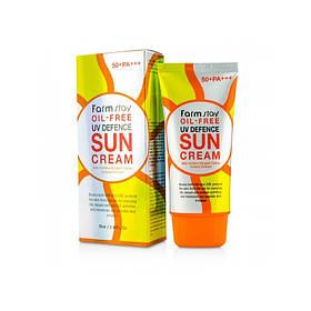 Солнцезащитый крем Farmstay Oil-Free Uv Defence Sun Cream SPF50+ PA+++