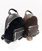 Рюкзаки мини, кожа