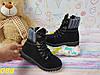 Детские черные ботинки тимбер, фото 4