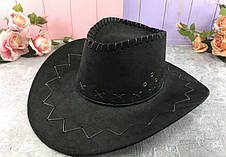 Шляпа ковбоя ковбойская замшевая шляпа разные цвета   H21-2-1, Н16-8, H21-2-2, фото 3