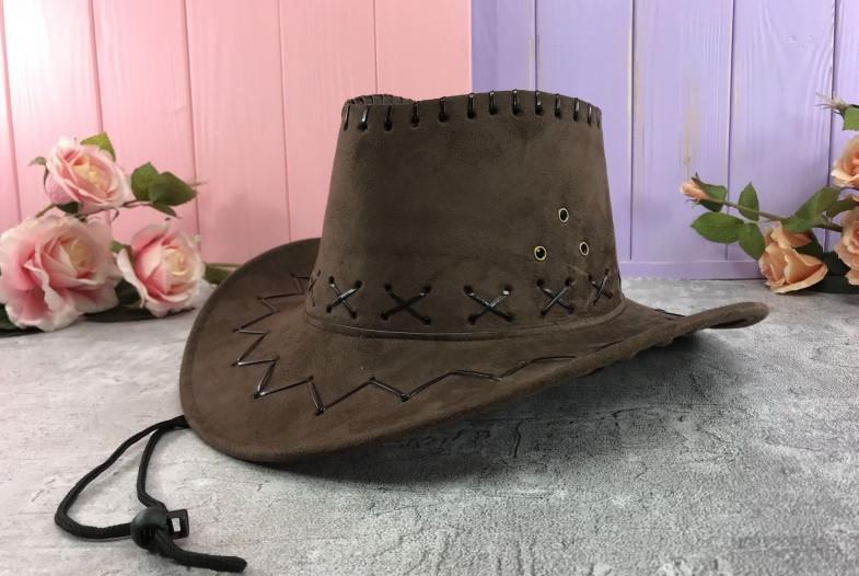 Шляпа ковбоя ковбойская замшевая шляпа разные цвета   H21-2-1, Н16-8, H21-2-2