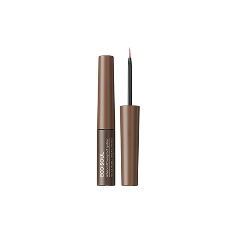 Подводка-Карандаш The Saem Eco Soul Advanced Powerproof Eyeliner