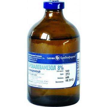 Бровалевамизол 8% 50 мл противопаразитарный ветеринарный препарат