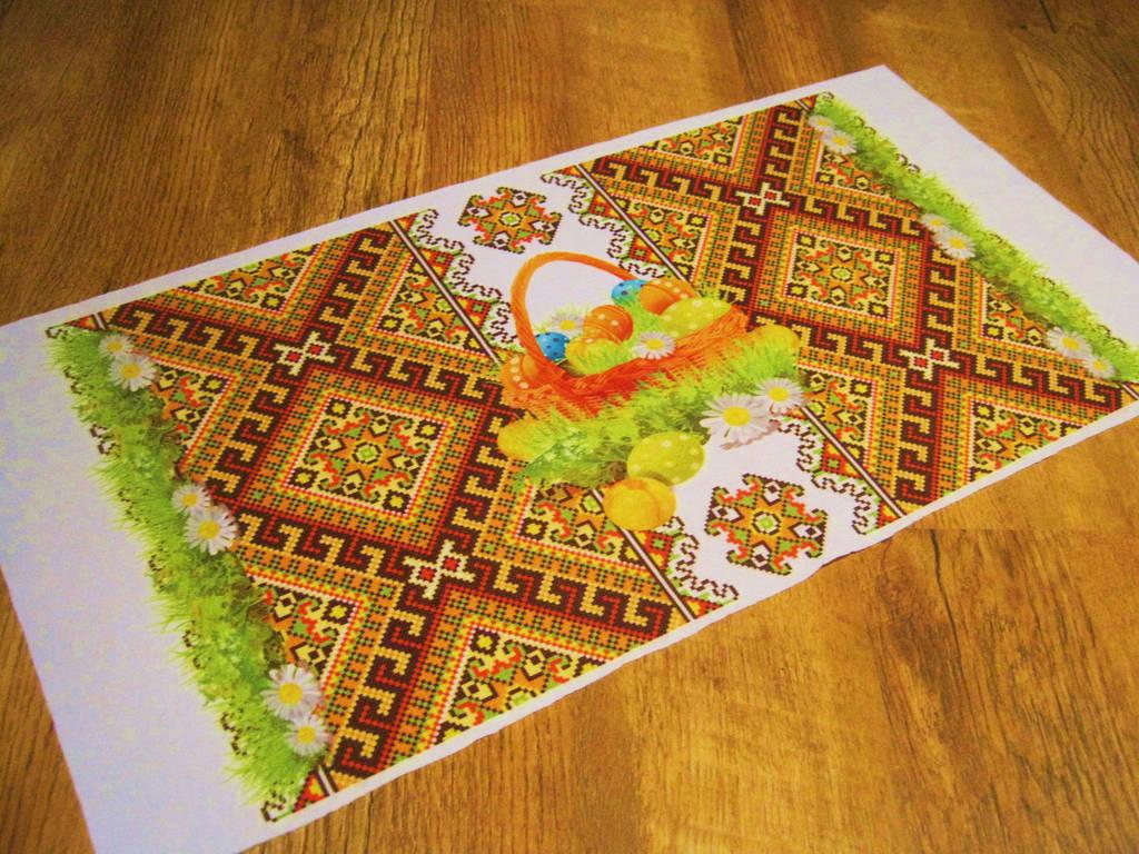 Салфетка пасхальная  текстильная