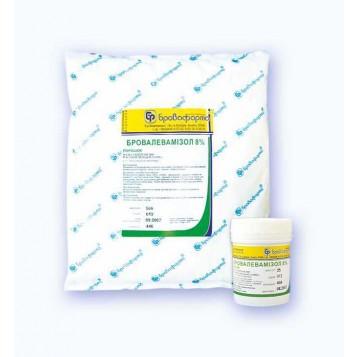 Бровалевамизол 8% порошок 500 г ветеринарный противопаразитарный препарат