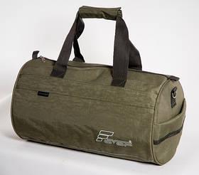 Спортивна дорожня сумка олива / Сумка спортивная, дорожная темно-зеленая