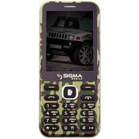 Мобильный телефон Sigma X-style 31 Power Khaki (4827798854747)