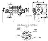 Насос ЦНС 13-70 секционный центробежный ЦНСг 13-70 для горячей воды производитель насоса ЦНС 13-70, фото 2