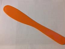 Шпатель-лопатка косметологический (оранжевая)