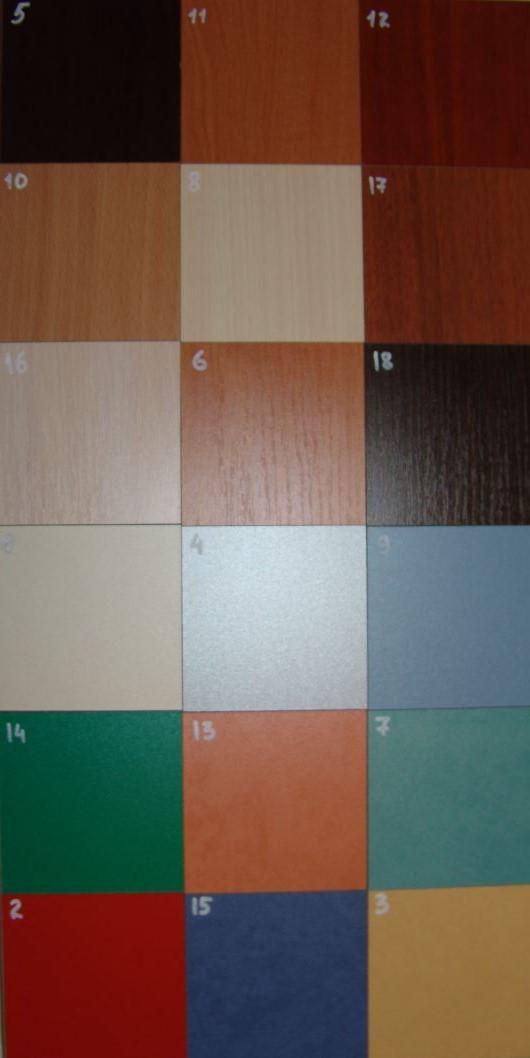 Цветовая гамма ДСП компьютерного стола прямого Сальта.