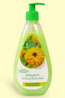Крем мыло Антибактериальное жидкое мыло  500мл, фото 2