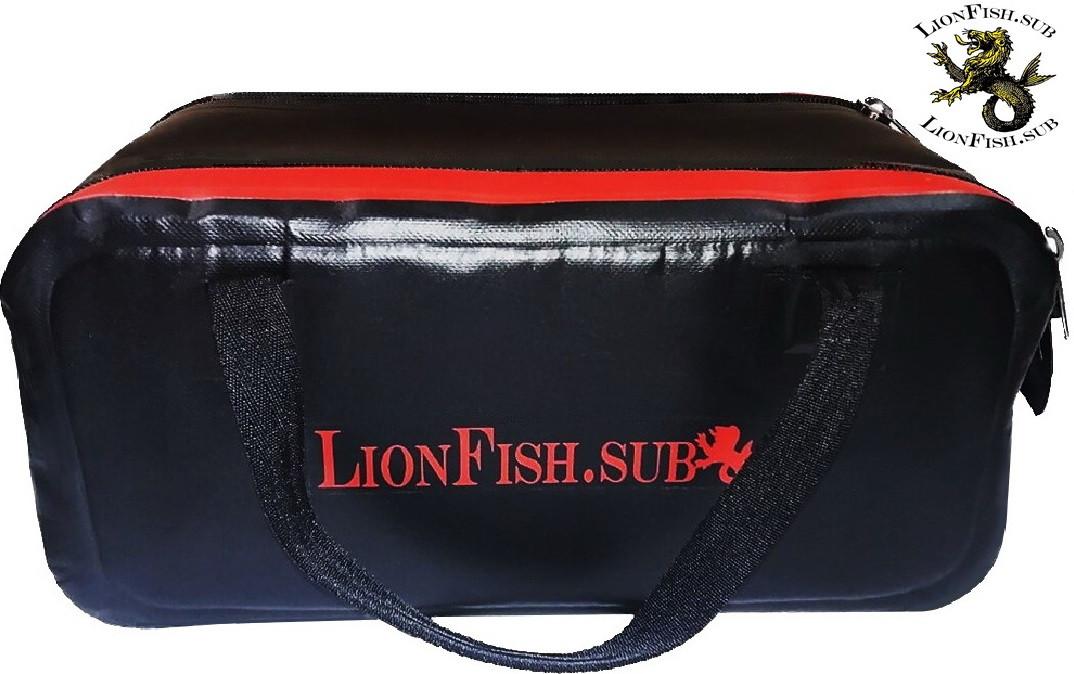 Сумка - Кейс LionFish.sub ПВХ / Сумка-Органайзер укреплен Войлоком со всех сторон