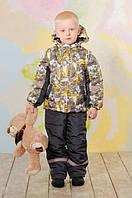 Теплые костюмы-комбинезоны, полукомбинезоны для мальчиков