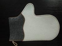 Рукавица для веника (комбинированная)