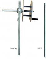 Электрод заземляющий для переносных заземлений до 10кВ ЭЗ-1-МБ (с барабаном) и ЭЗ-1М (без барабана)