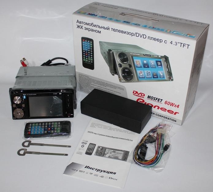 Автомагнитола с 4.3 TFT ЖК экраном