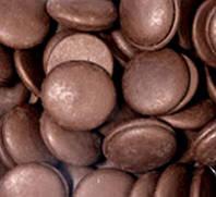 Шоколадная глазурь в дисках черная Украина